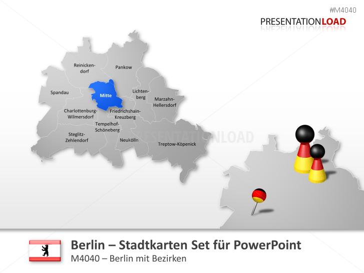Berlin - Stadtkarte