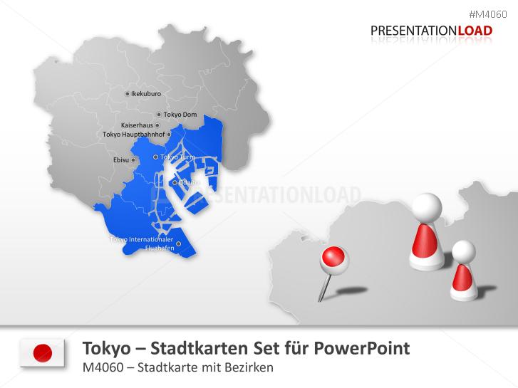 Tokyo - Stadtkarte _https://www.presentationload.de/stadtkarte-tokyo.html