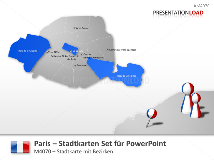 Paris - Stadtkarte _https://www.presentationload.de/stadtkarte-paris.html