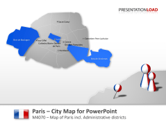 Paris - City Map _https://www.presentationload.com/city-map-paris.html