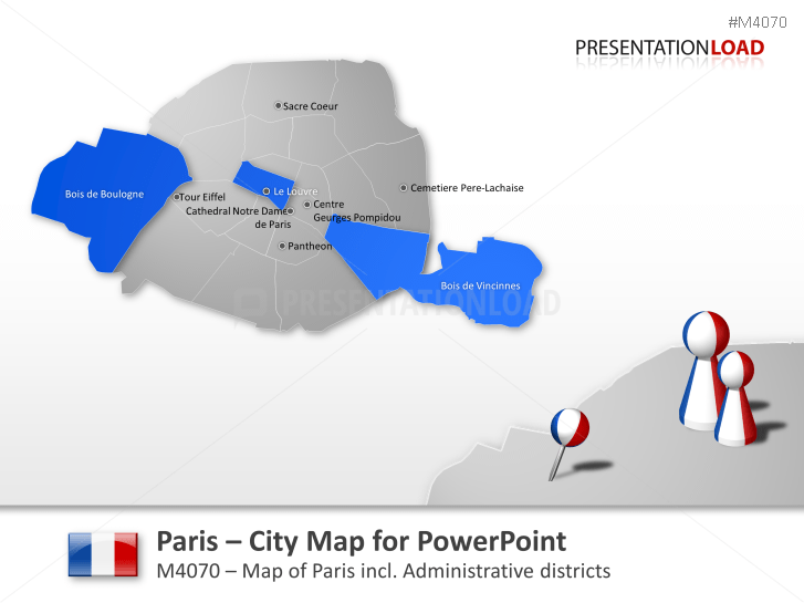 Paris - City Map