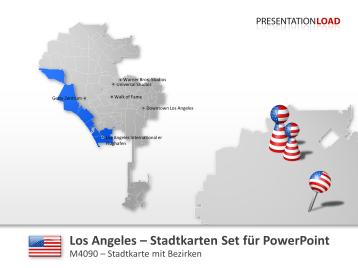Los Angeles - Stadtkarte _https://www.presentationload.de/stadtkarte-los-angeles.html