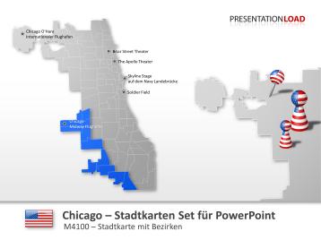 Chicago - Stadtkarte _https://www.presentationload.de/stadtkarte-chicago.html