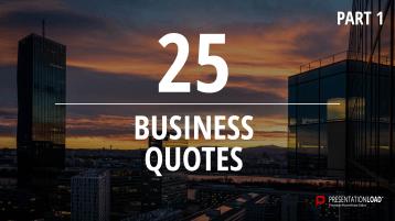 Zitate über Business - kostenlose PowerPoint-Vorlage _https://www.presentationload.de/kostenlose-powerpoint-zitate-business.html