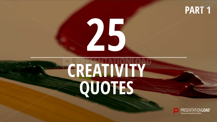 Free PowerPoint Quotes - Creativity