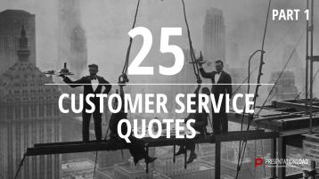 Zitate über Kundenservice - kostenlose PowerPoint-Vorlage _https://www.presentationload.de/kostenlose-powerpoint-zitate-kundenservice.html