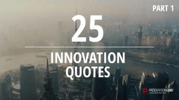 Zitate über Innovation - kostenlose PowerPoint-Vorlage _https://www.presentationload.de/kostenlose-powerpoint-zitate-innovation.html