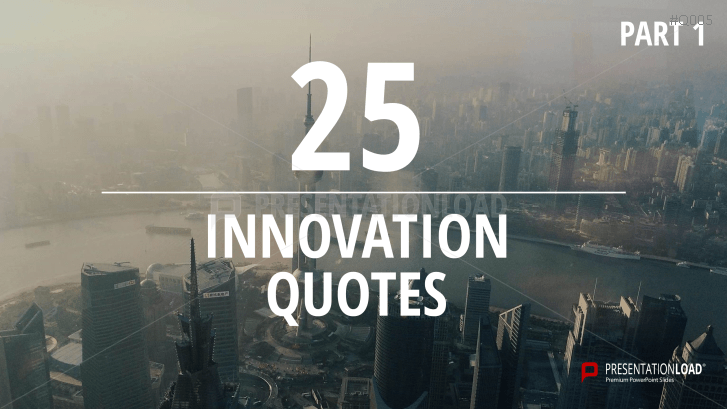 Free PowerPoint Quotes - Innovation