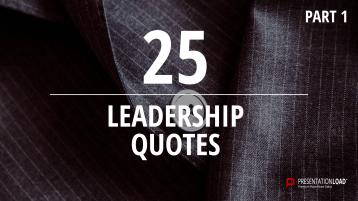 Zitate über Unternehmensführung - kostenlose PowerPoint-Vorlage _https://www.presentationload.de/kostenlose-powerpoint-zitate-leadership.html