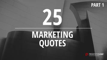 Zitate über Marketing - kostenlose PowerPoint-Vorlage _https://www.presentationload.de/kostenlose-powerpoint-zitate-marketing.html