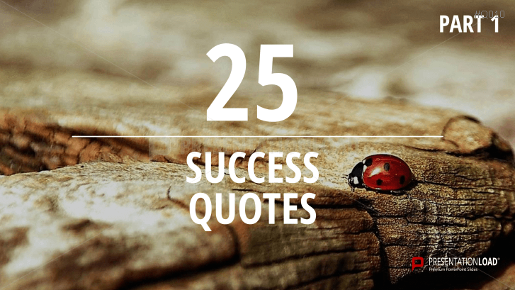 Free PowerPoint Quotes - Success