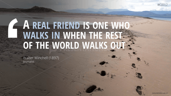 Footprints In The Sand Friendship Quotes Off The Hill Magazine