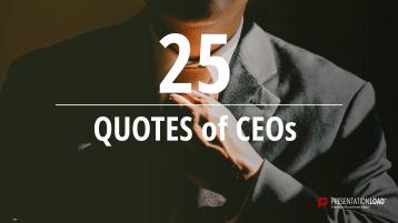 Zitate über CEO - kostenlose PowerPoint-Vorlage _https://www.presentationload.de/kostenlose-powerpoint-zitate-ceo.html