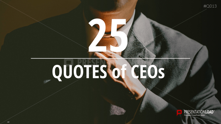 Free PowerPoint Quotes - CEO