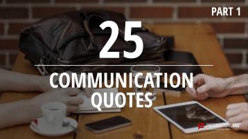 Zitate über Kommunikation - kostenlose PowerPoint-Vorlage _https://www.presentationload.de/kostenlose-powerpoint-zitate-kommunikation.html