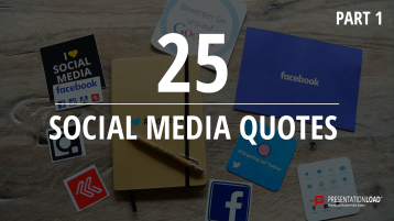 Zitate über Social Media – kostenlose PowerPoint-Vorlage _https://www.presentationload.de/kostenlose-powerpoint-zitate-social-media.html