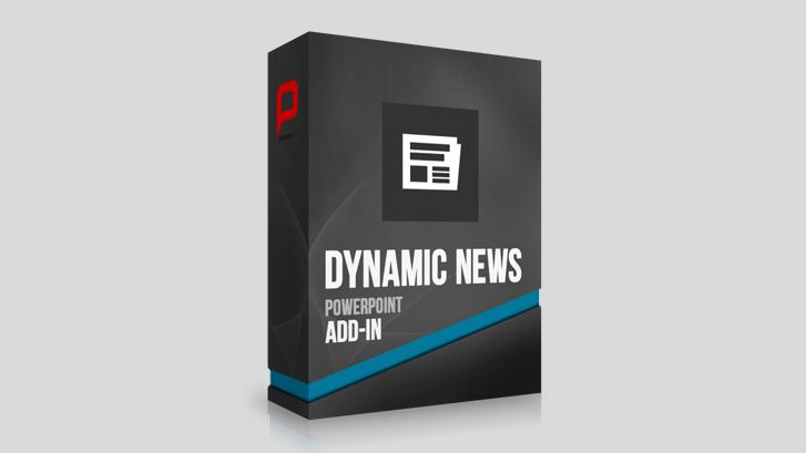 Dynamische News-Anzeige für PowerPoint