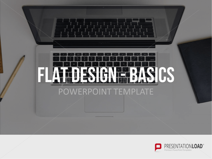Set base de plantillas en diseño plano _https://www.presentationload.es/basic-flat-design-powerpoint-templates-es.html