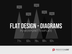 Flat Design - Diagramme _https://www.presentationload.de/diagramme-flat-design-powerpoint-vorlagen.html