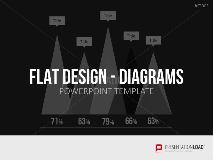 Flat design - Diagrammes _https://www.presentationload.fr/flat-design-diagrammes-powerpoint-templates-fr-1.html
