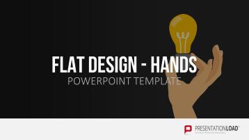 Flat Design - Hände
