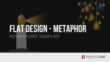 Flat Design - Metaphern (Animiert)