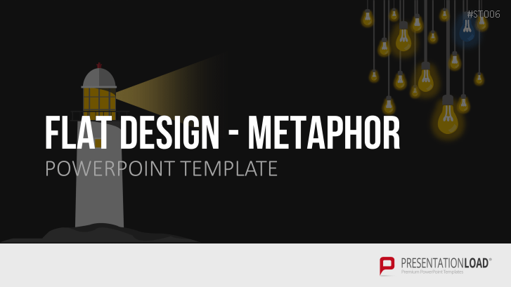 Flat Design - Metaphor Graphics
