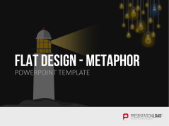 Flat Design - Metaphor Graphics _https://www.presentationload.com/metaphors-flat-design-powerpoint-templates.html