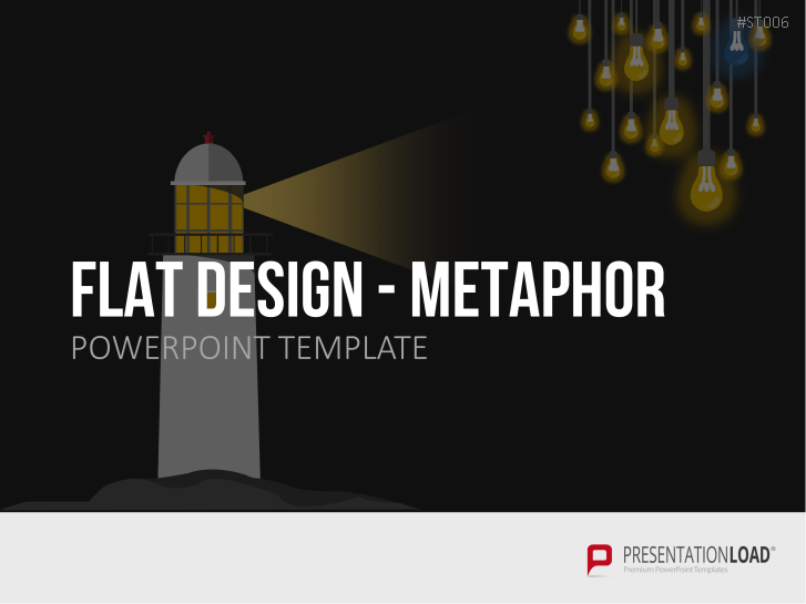 Flat Design - Metaphern _https://www.presentationload.de/metaphern-flat-design-powerpoint-vorlagen.html