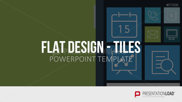 Flat Design - Kacheln