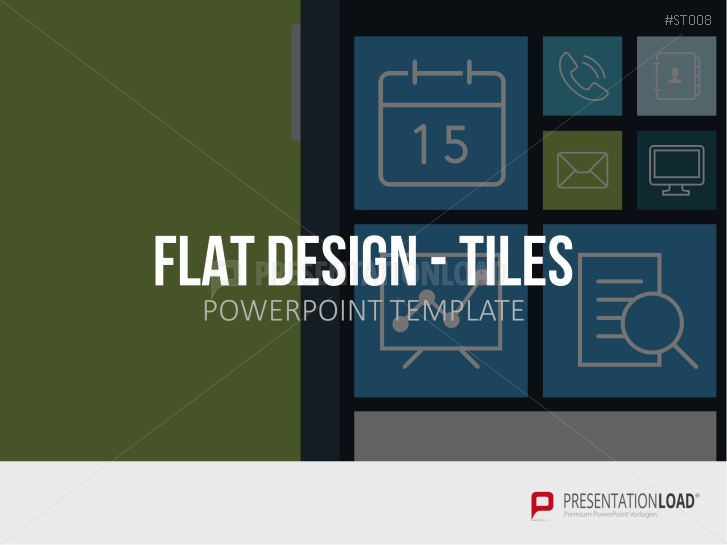 presentationload | flat design, Powerpoint templates
