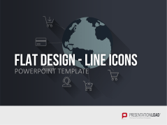 Flat Design - Line Icons _https://www.presentationload.de/icons-flat-design-powerpoint-vorlagen.html