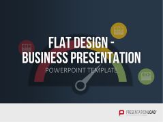 Flat design - Présentation Business _https://www.presentationload.fr/presentation-entreprise-flat-design-1.html