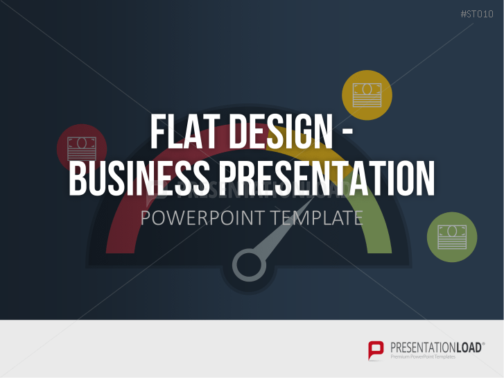 Flat Design - Business Presentation _http://www.presentationload.com/flat-design-business-presentation.html