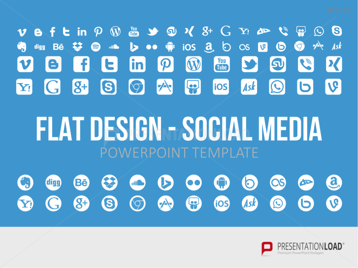 Flat Design - Social Media _https://www.presentationload.com/social-media-flat-design-powerpoint-templates.html