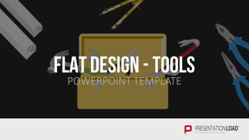 Flat Design - Tools _https://www.presentationload.com/tools-flat-design-powerpoint-templates.html