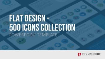Iconos en diseño plano _https://www.presentationload.es/iconos-en-dise-o-plano.html