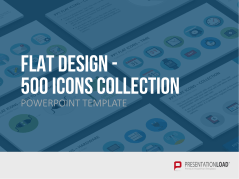 Flat Design - Icons Collection _https://www.presentationload.de/flat-design-icons-powerpoint-vorlage.html