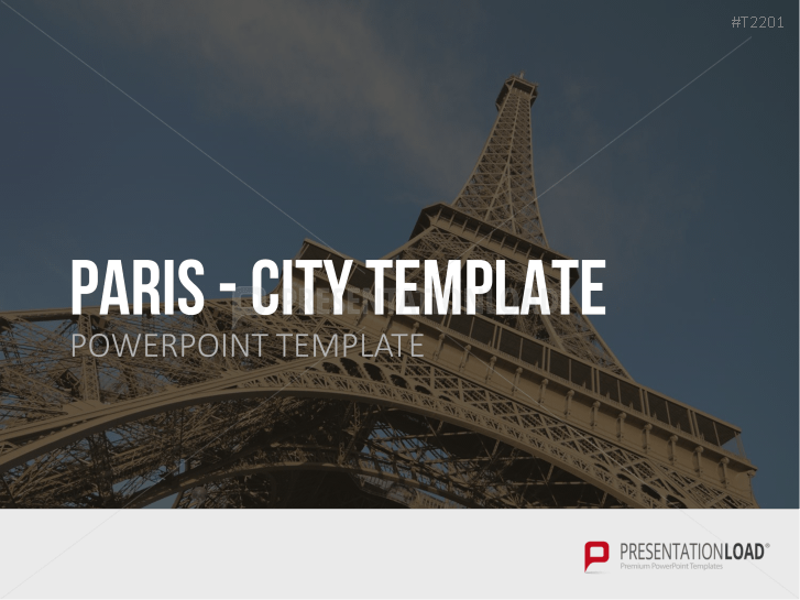 presentationload | city template paris, Modern powerpoint