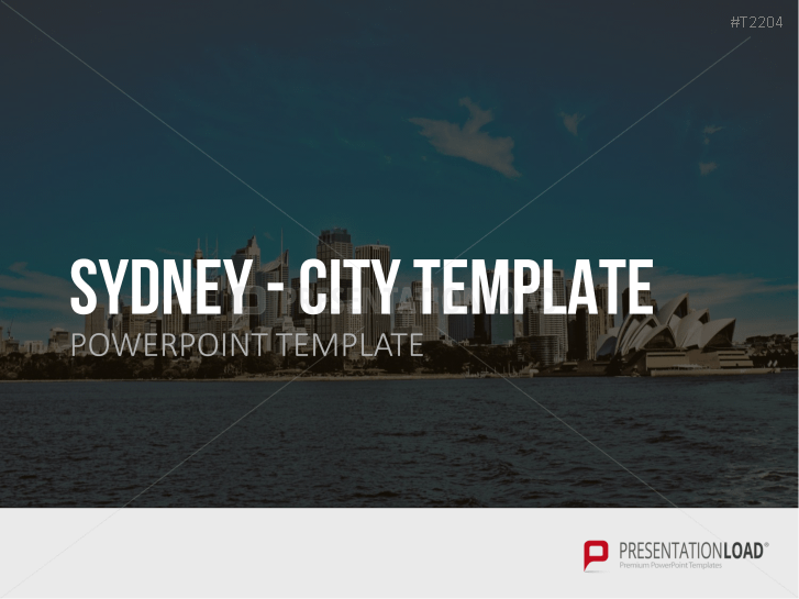 City Template Sydney _https://www.presentationload.de/stadt-sydney.html