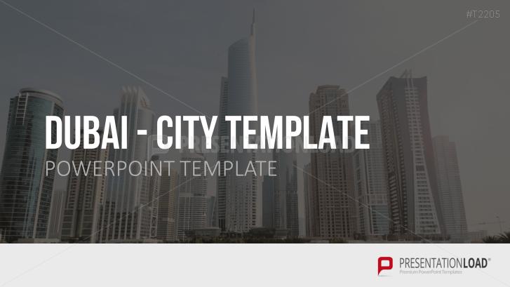 City Powerpoint Template | Presentationload City Template Dubai