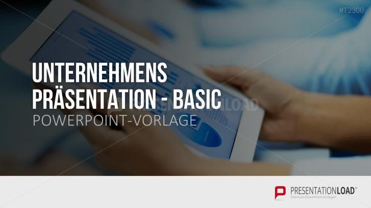 Unternehmenspräsentation Basic
