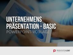 Unternehmenspräsentation Basic _https://www.presentationload.de/unternehmenspraesentation-basic.html