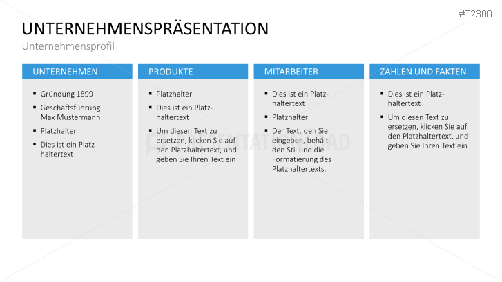 PresentationLoad | Unternehmenspräsentation Basic