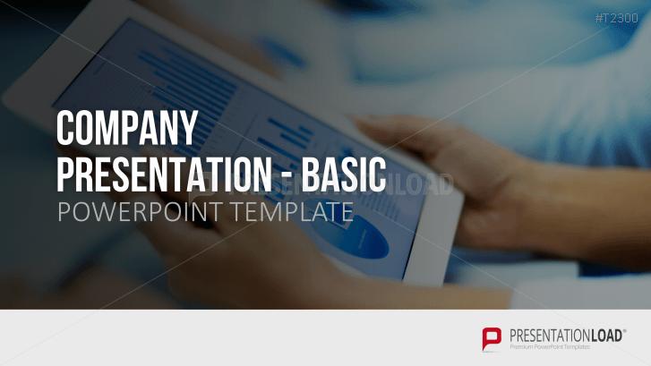 Company Presentation Basic