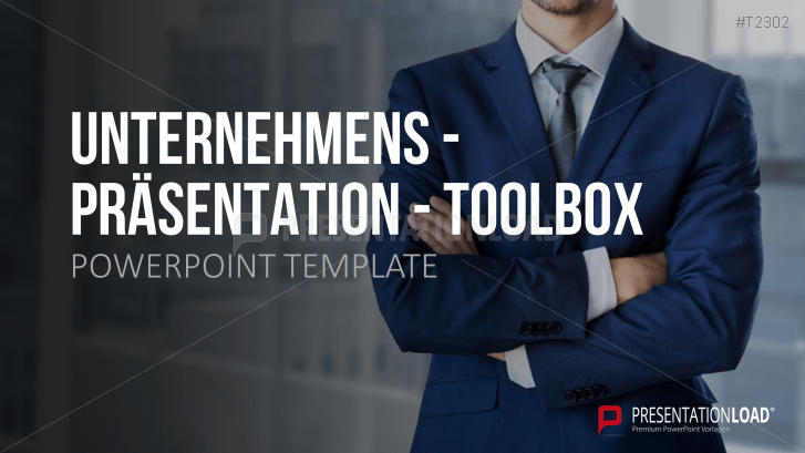 Unternehmenspräsentation Toolbox
