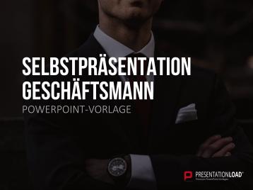 Selbstpräsentation - Geschäftsmann _https://www.presentationload.de/selbstpraesentation-geschaeftsmann.html