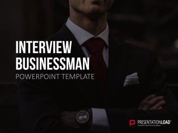 Interview Businessman _https://www.presentationload.com/self-presentation-business-man.html