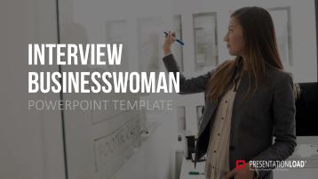 Interview Businesswoman