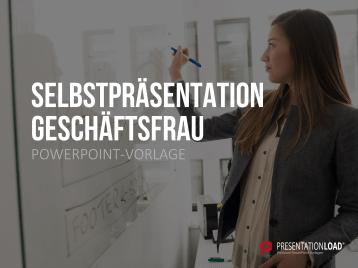 Selbstpräsentation - Geschäftsfrau _https://www.presentationload.de/business/Selbstpraesentation-Geschaeftsfrau.html